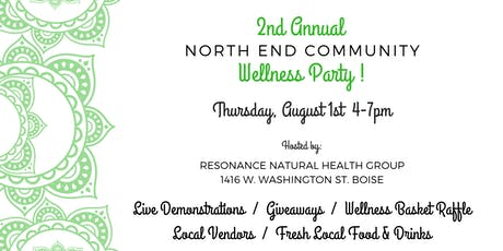North End Community Wellness Party tickets