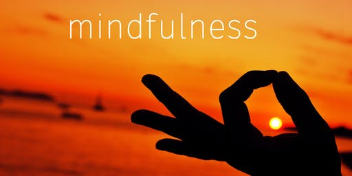 Mindfully Mend - Mindfulness Classes (4 x Thursday mornings)  (18th July - 8th August 2019)