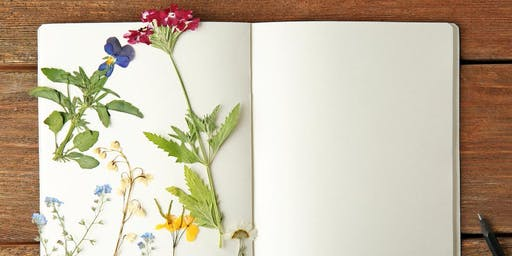 Flower Press: Nature Journaling Workshop - Ridgedale