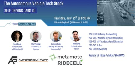 Autonomous Vehicles Tech Stack Panel Discussion tickets