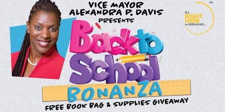 Back to School Bonanza tickets
