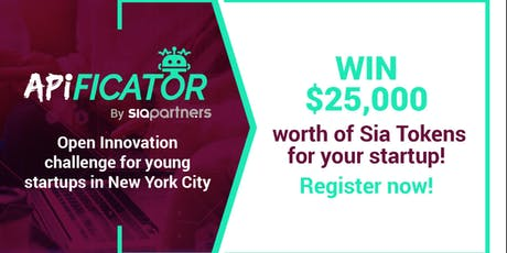 APIficator Pitch Challenge tickets