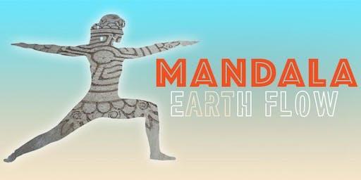 Mandala Earth Flow