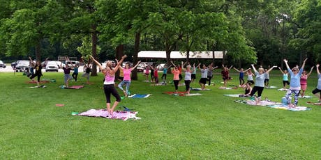 Yoga in the Park - Free all Summmer tickets
