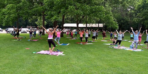 Yoga in the Park - Free all Summmer