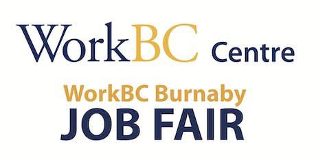 WorkBC Burnaby - Autumn Job Fair tickets