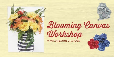 Blooming Canvas tickets