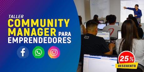 Community Manager para Emprendedores entradas