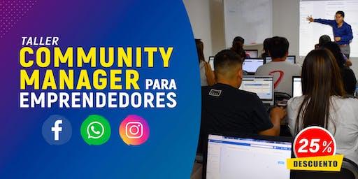 Community Manager para Emprendedores