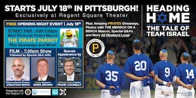 Heading Home to Pittsburgh: Pirates celebrate Jewish community