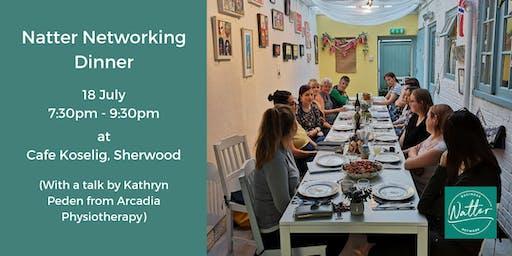 Natter Networking Dinner - July