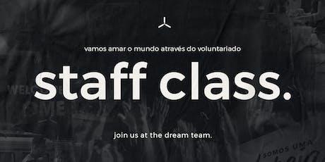 Staff Class ingressos