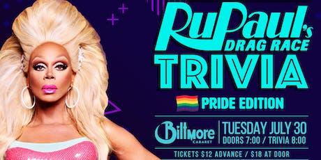 RuPaul Drag Race Trivia! PRIDE EDITION! tickets