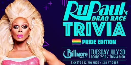 RuPaul Drag Race Trivia! PRIDE EDITION!