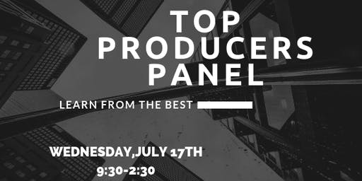 TOP PRODUCERS PANEL DISCUSSION