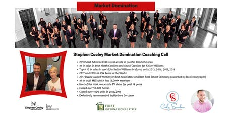 Market Domination Coaching Call tickets