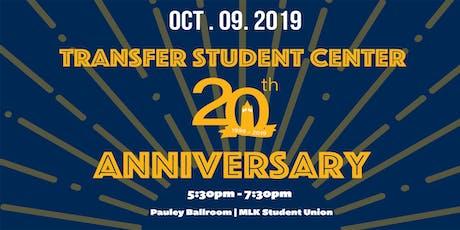 Transfer Student Center 20th Anniversary tickets