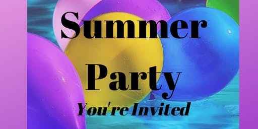 End of Summer Party! 10% of profits goes to end childhood cancer.