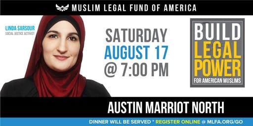 Build Legal Power for American Muslims with Linda Sarsour - Austin, TX
