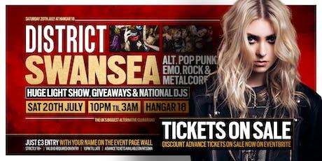 DISTRICT Swansea // Huge Alt Club Night // Saturday 20th July tickets