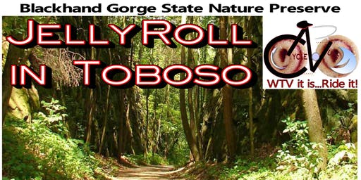 JellyRoll in Toboso! - Bike the Blackhand Gorge Trail in Toboso, Ohio