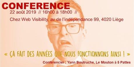 Conférence billets