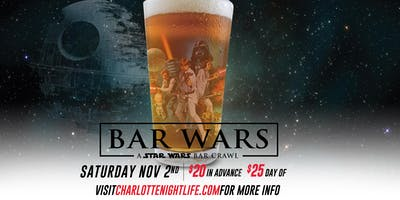 HOST EUN: Bar Wars: A Star Wars Themed Bar Crawl