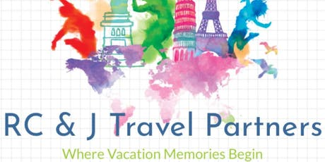 RC & J Travel Partners Six Flags Trip tickets