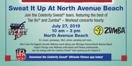 Celebrity Sweat Wellness Tour- Chicago tickets