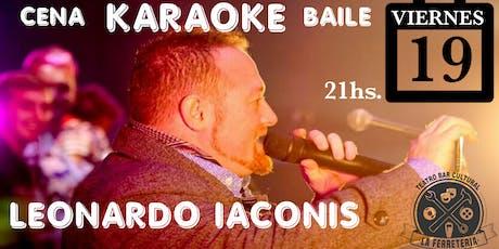 Festejamos El DÍA DEL AMIGO con Karaoke: en La FERRE entradas