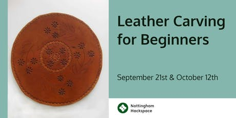 Leather Carving for Beginners tickets