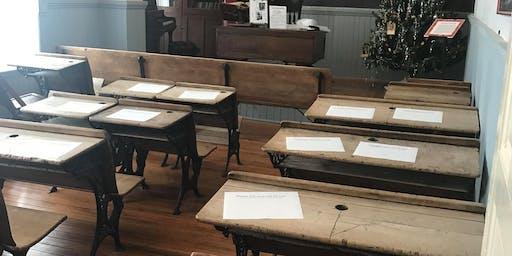 Pioneer Camp, One Room Schoolhouse