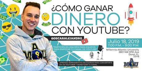 Aprende a Usar y Monetizar con Youtube billets