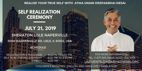 Self Realization Ceremony  tickets