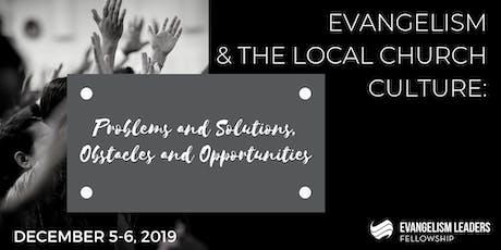Evangelism Leaders Fellowship December Gathering tickets