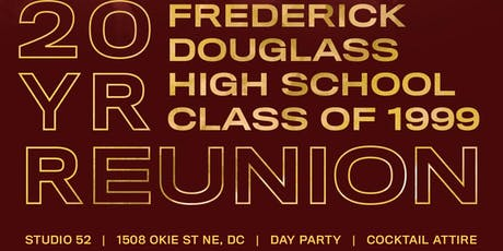 FDHS Class of 1999 20 Year Reunion  tickets