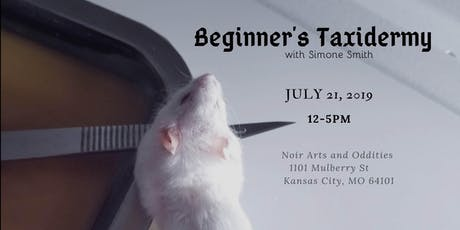 Beginner's Taxidermy Mouse Class tickets