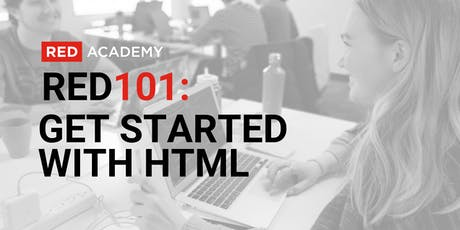 RED 101: Get Started With HTML tickets