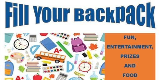 Back To School and Community Celebration/ FILL YOUR BACKPACK
