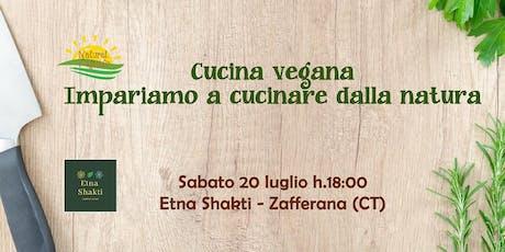 Cucina vegana: impariamo a cucinare dalla natura biglietti