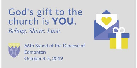 66th Synod of the Diocese of Edmonton tickets