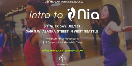 Intro to Nia at Move2Center Studio in West Seattle tickets