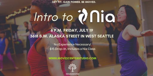 Intro to Nia at Move2Center Studio in West Seattle