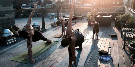 Rooftop Yoga & Tacos at El Cortez