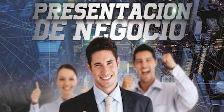 PRESENTACIÓN DE NEGOCIOS. entradas