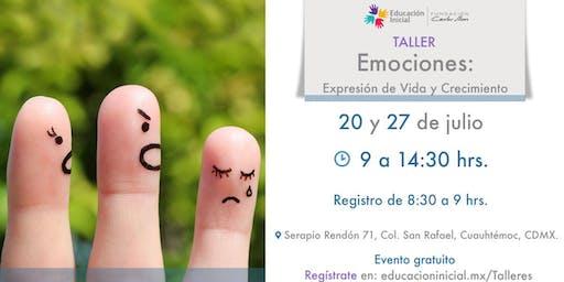 Taller Emociones: Expresión de Vida y Crecimiento