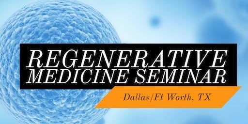 FREE Stem Cell Dinner Seminar for Pain Relief- Keller, TX