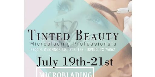 Tinted Beauty Microblading + Shading training