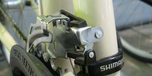 Free Gears and Derailleurs Bike Repair Clinic