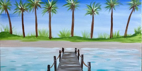 Studio P.M. with Natalie- Welcome to Paradise Painting tickets